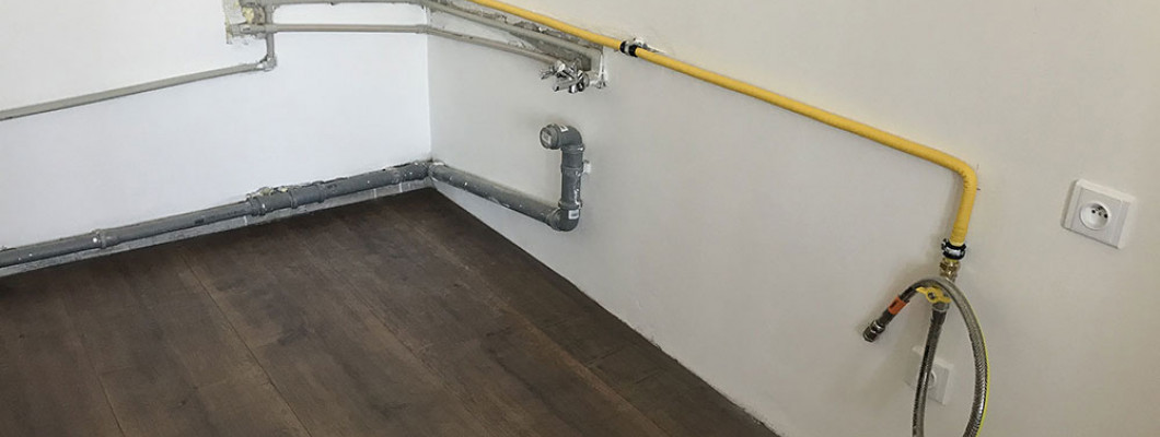 Rekonstrukce bytového plynovodu s nerezovou trubkou GAS PROFI a hadicí GAS PROFI