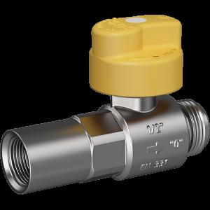 """Bezpečnostní plynový ventil Merabell VAIT Rp1/2""""-G1/2"""" - přímý"""