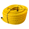 KOPOFLEX® – ohebná dvouplášťová korugovaná chránička (žlutá), délka 50m, průměr vnější/vnitřní – 50/41mm